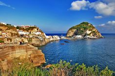 Sant'Angelo is another great spot to visit on Ischia.