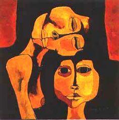 Madre e Hija. Osvaldo Guayasamin