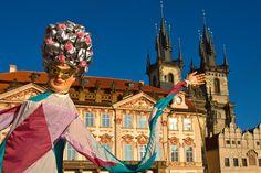 Masopust 2007 Old Town Square Prague Czech Republic | Peter Forsberg