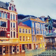 Bergen Norway's Second City and the Gateway to the Fjords. Photo by @t3o81 on Instagram.