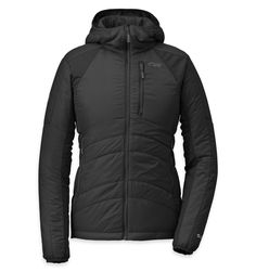 Outdoor Research Cathode Hooded Jacket, Women& Color: Black/Charcoal Outdoor Apparel, Outdoor Gear, Outdoor Clothing, Women's Clothing, Outdoor Research, Jackets For Women, Clothes For Women, Women's Jackets, Outdoor Woman