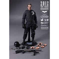Figura LT. JIM GORDON S.W.A.T. Hot Toys