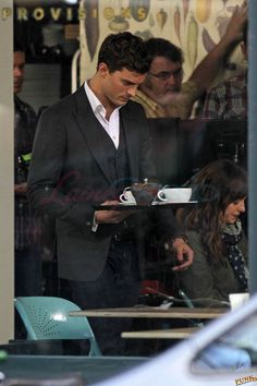 Dakota Johnson and Jamie Dornan Fifty Shades Of Grey first set photos in Vancouver