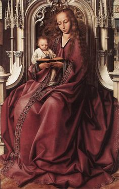 Квентин Массейс. Virgin and Child. Вторая половина XV в.