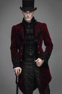 Schwarzer mantel fur manner