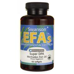 Swanson Super Dpa Fish Oil mg 60 Sgels Primrose Oil, Evening Primrose, Great Lakes Gelatin, Supplements For Hair Loss, Omega 3 Fish Oil, Safflower Oil, Face Skin Care, Essential Fatty Acids