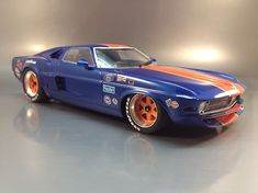 Gulf Racing Mustang | ... as the traditional color scheme of first gt40 gulf engaged in racing