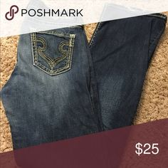 Buckles Jeans Lightly worn, great condition! Buckle Pants Boot Cut & Flare