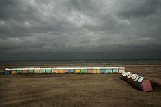 Harry Gruyaert FRANCE. Nord-Pas-de-Calais region. Pas-de-Calais departement. Berck beach. 2007.