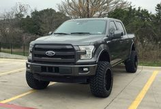 2015 Ford F150 lifted