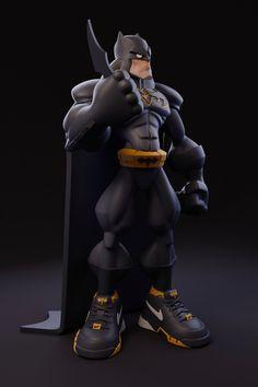 Fantasy Character Design, 3d Character, Comic Boom, Batman Pictures, Monster Concept Art, Weird Words, Disney Infinity, Batman Art, Designer Toys