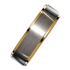 White and Rose Gold Men's Wedding Band by Christian Bauer no rose gold