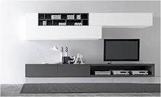 Resultado de imagen para muebles de oficina minimalistas Media Unit, Tv Unit, Home Art, New Homes, Wall Decor, Anime Pictures, House, Design, Decoration