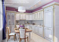 Дизайн интерьеров - кухня - современная классика - классика -интерьера
