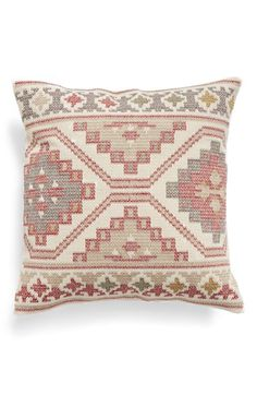 Nordstrom at Home Nordstrom at Home 'Mosaic Stripe' Accent Pillow available at #Nordstrom