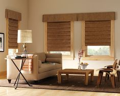 designer roller shades hunter douglas - Google Search    Personal note from Lizzy.... I would not have had those two valances touch like that.... is not consistent with the side window.... looks out of place..