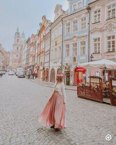"7c5f81780 SAM MCCLENDON on Instagram  ""loving all of the colorful streets of  Prague... shop the skirt at thi   liketk.it 2yWaP  liketkit  liketoknow.it"""