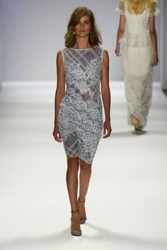 Tadashi Shoji SS 2014...Beautiful, great details to receate for your special day.