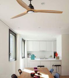 Dc Ceiling Fan, Ceiling Fan Price, Ceiling Lights, Rustic Design, Modern Design, Wood Ceilings, Glass Diffuser, Heating Systems, White Light