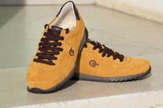 G&T Aktív Mustár nubuk bőr cipők Aktiv, Sneakers, Shoes, Fashion, Tennis, Moda, Slippers, Zapatos, Shoes Outlet