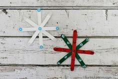 5 Easy Christmas Crafts ~ Formula Mom | Texas Blogger