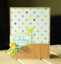 Card by Leigh Penner. Reverse Confetti stamp sets: Let's Chill and Label Me. Confetti Cuts: Label Me and Arrow.  Birthday card. Masculine card.