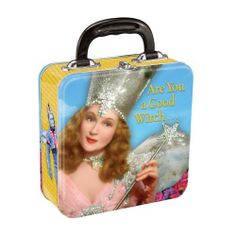Vandor Square Tin Tote, The Wizard of Oz by Vandor. Save 60 Off!. $6.00. Snap Closure with Handle. Features the Wizard of Oz. The Wizard of Oz Square Tin Tote