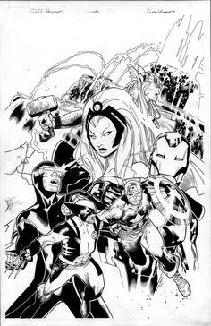 Avengers vs X-Men: Olivier Coipel