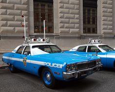 1973 Plymouth NYPD Police Patrol Car by jag9889, via Flickr