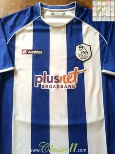 Relive Sheffield Wednesday's 2007/2008 season with this original Lotto home football shirt.