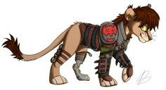 "This is cute. I have never seen Hiccup as a lion. Well, I guess he is the ""mane"" event. :)"