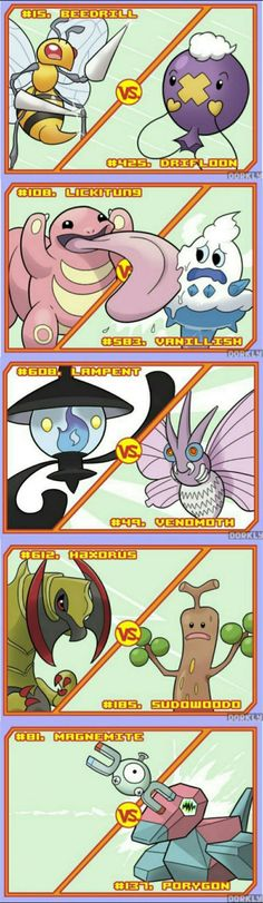 Pokémon Battles that would be over in seconds.