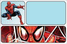 Convite Homem-Aranha para imprimir - Fazer Festa Fácil