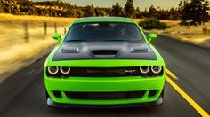 10 things we learned driving the 2015 Dodge Challenger SRT Hellcat. http://www.roadandtrack.com/car-reviews/first-drives/2015-dodge-challenger-srt-hellcat-review-first-drive