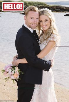 First look: Ronan and Storm Keating shared the first image from their recent Scottish wedding