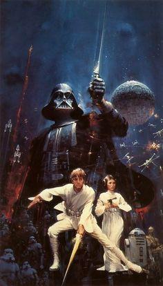 Starwars movie poster