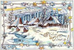 Xmas Cards Handmade, My Friend, Vintage World Maps, Handmade Christmas Greeting Cards, My Boyfriend