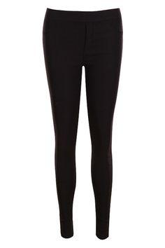 #Romwe Down Inside Warming Black Pants