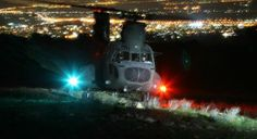 4th Helicopter Battalion (CH-47D), NVG operations