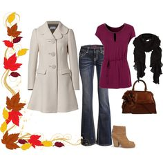 """Autumn/Winter #1"" by lady-planeswalker on Polyvore"