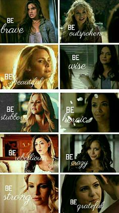 The Vampire Diaries and The Originals edit ••• This is so beautiful....