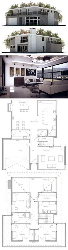 Plan de Maison  ~ Great pin! For Oahu architectural design visit http://ownerbuiltdesign.com