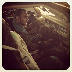 30secondstomars #CityOfAngels: SHANNON behind the wheel — #MARS