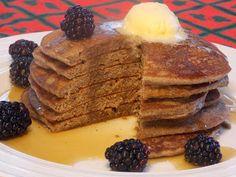 Healthy Vegan Buckwheat Pancakes