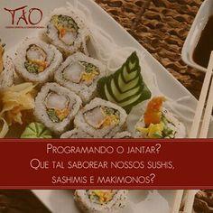 Restaurante Tao   T-48, 121 - Setor Oeste, Goiânia - GO (62) 3251-3333 Curta mais : www.zzgoiania.com
