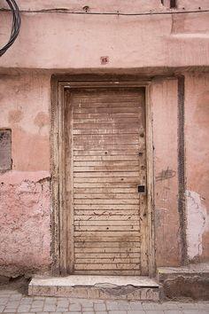 MARRAKECH DOORS, nude-color, pink, old wood