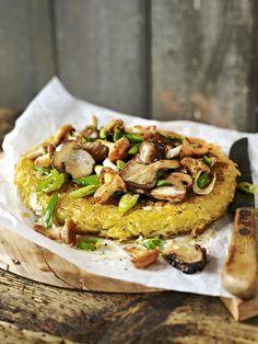 Galette de pommes de terre aux champignons - Une recette d'automne très gourmande pour faire plaisir à toute la famille !