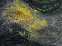 Artist Peter Bragino presents a flowing spiritual abstract made with acrylic and markers on archival paper.