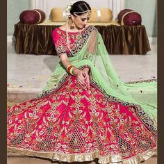 Heavy Embroidered Wedding Lehenga Choli  Product Info : ✨CODE : 1573 ✨DUPATTA : NYLON NET GEORGETTE ✨LEHENGA:TWO TONE SLUB SILK ✨BLOUSE: TWO TONE SLUB SILK ✨INNER:SATIN ✨TYPE:LEHNGA ✨WORK:MULTY/SEQUENCE/HAND WORK  Price : 3200 INR Only ! #Booknow  CASH ON DELIVERY Available In India !  World Wide Shipping ! ✈  For orders / enquiry 📲 WhatsApp @ +91-9054562754 Or Inbox Us , Worldwide Shipping ! ✈ #SHOPNOW  #indianwear #ethnicwear #bollywood #dress #outfit #salwarkameez..