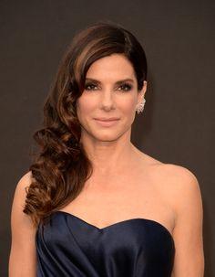 Get Sandra Bullock's bombshell brunette formula by Joico Celeb Colorist. #Oscars2014